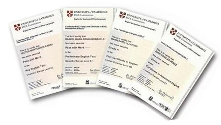 Examenes oficiales